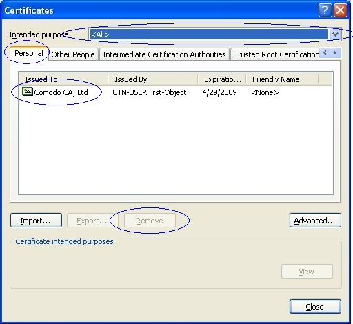 How do I remove a certificate with Internet Explorer (IE)? - Powered ...