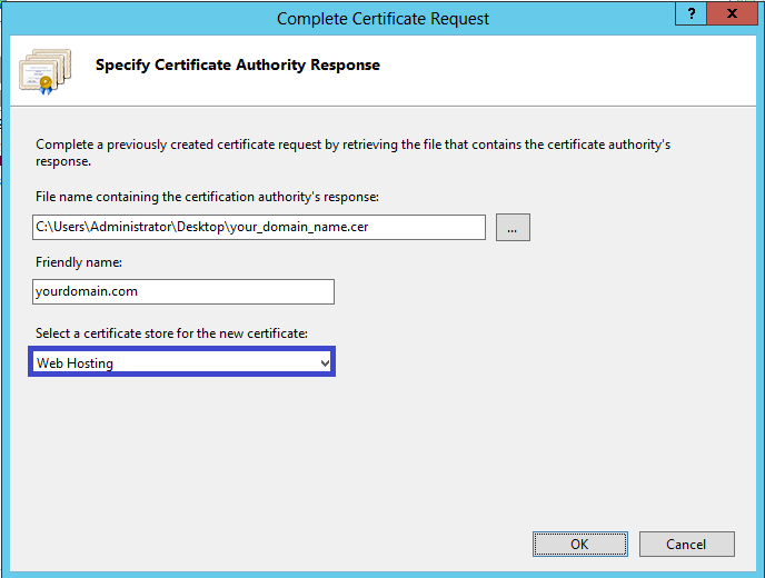 Certificate Installation: Microsoft IIS 8.x - Powered by Kayako Help ...