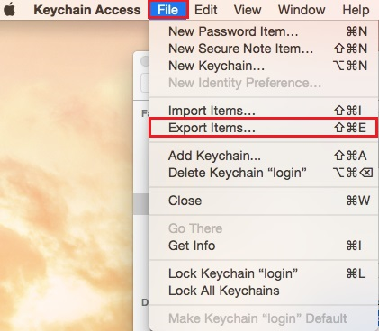 Mac - Keychain Access