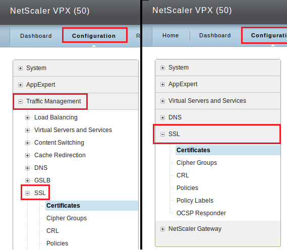 Citrix NetScaler VPX - Create CSR And