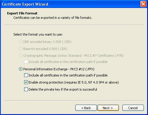 Exporting and Restoring a PFX file to IIS - Powered by Kayako Help ...