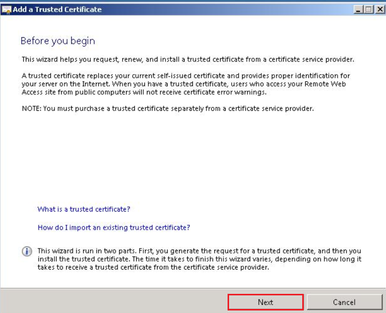 Positive SSL | How to Install Certificates on SBS 2008 / 2011