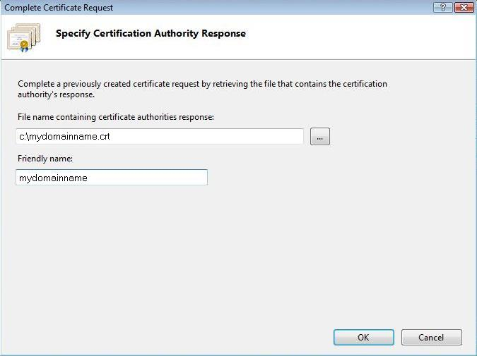 pics How to Install an SSL Certificate